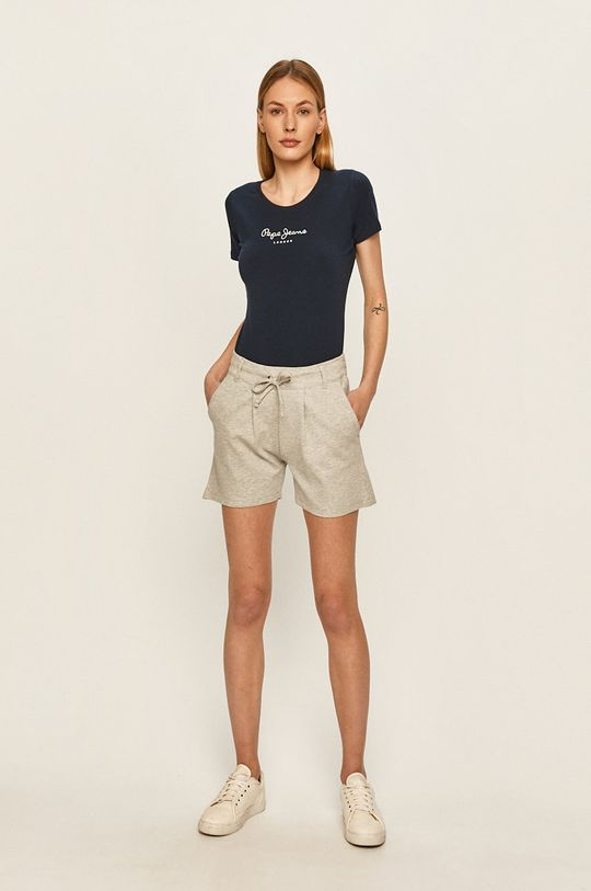 Pepe Jeans - Top New Virginia námořnická modř