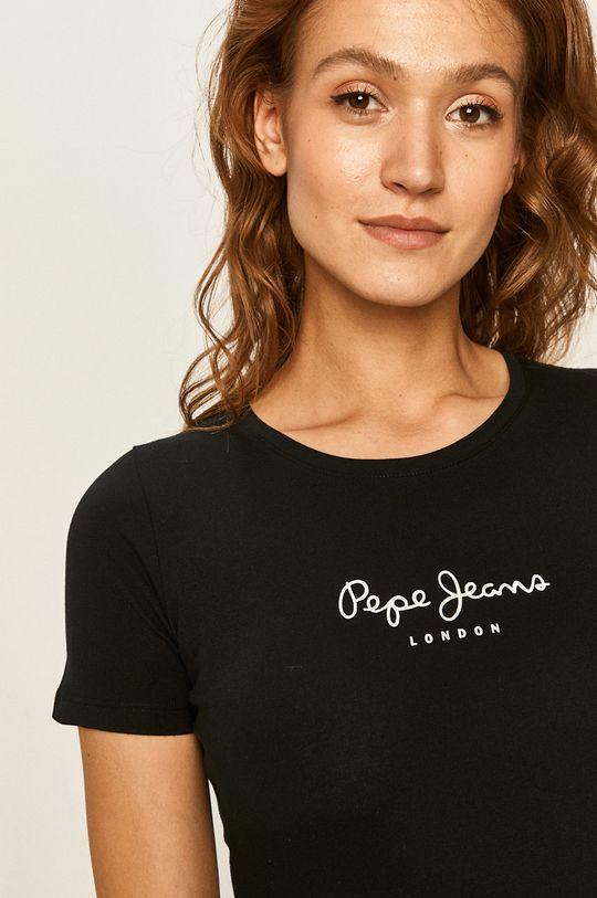 negru Pepe Jeans - Top New Virginia De femei