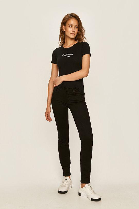 Pepe Jeans - Top New Virginia negru