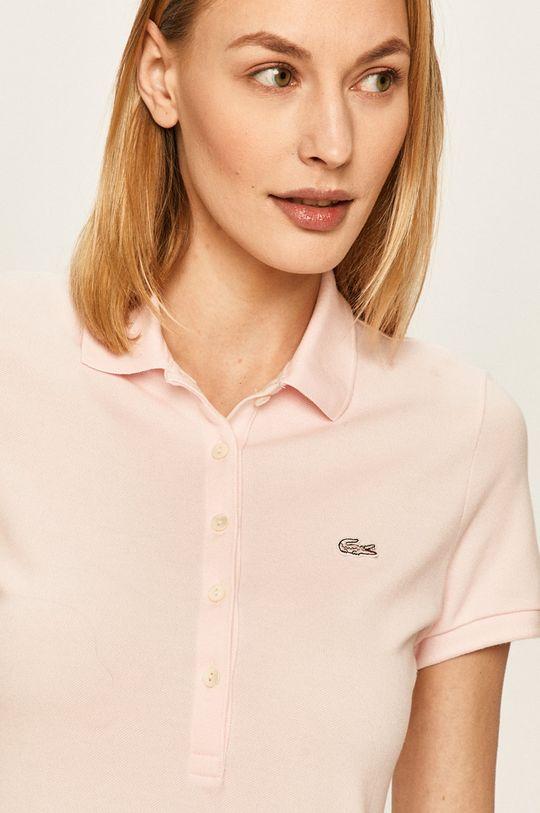 różowy Lacoste - Top