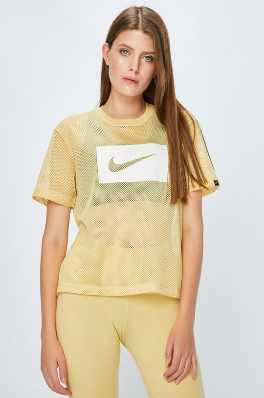 žlutá Nike Sportswear - Top Dámský