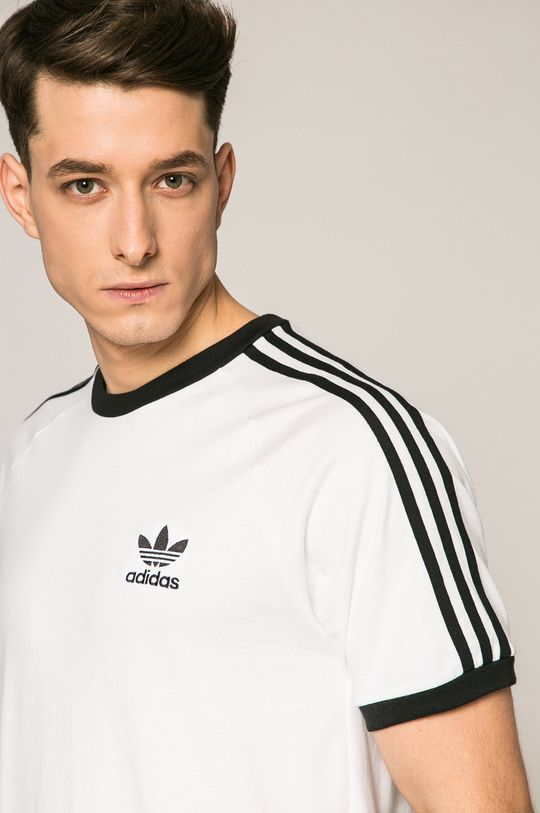 fehér adidas Originals - T-shirt