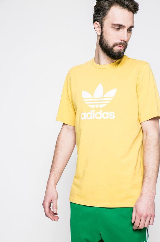 жълт adidas Originals - Тениска Чоловічий