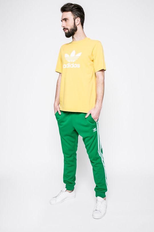 adidas Originals - Тениска жълт