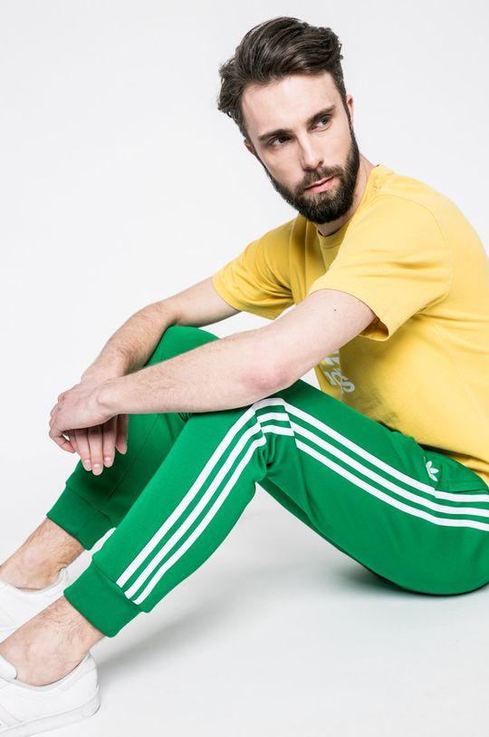 жълт adidas Originals - Тениска