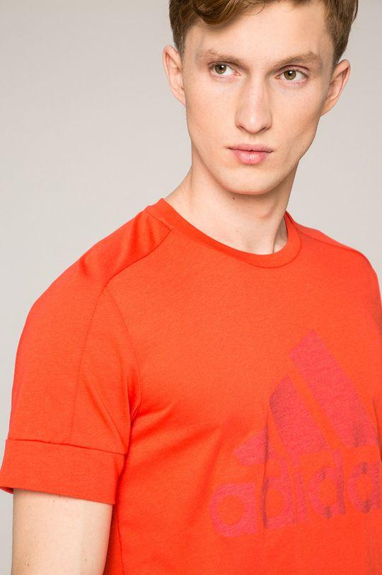 piros adidas Performance - T-shirt