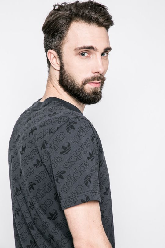 графит adidas Originals - Тениска Чоловічий