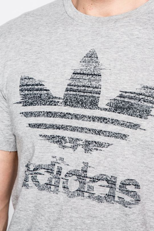 сив adidas Originals - Тениска