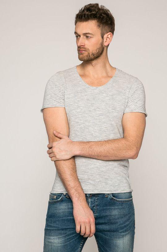 biela Selected - Pánske tričko Pánsky