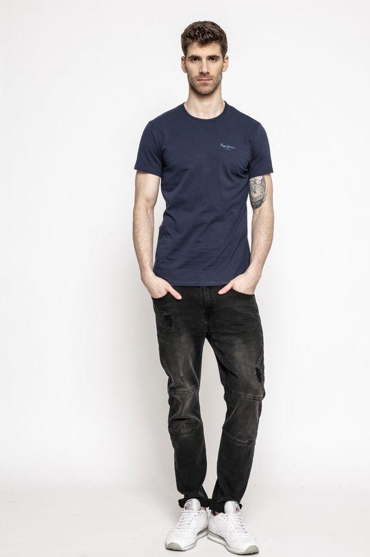 Pepe Jeans - T-shirt granatowy