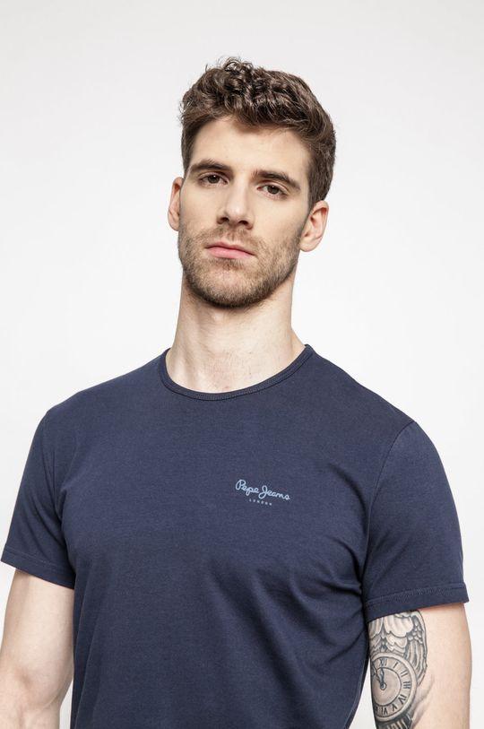 granatowy Pepe Jeans - T-shirt