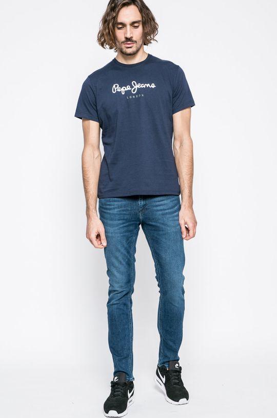 Pepe Jeans - Tričko Eggo námořnická modř