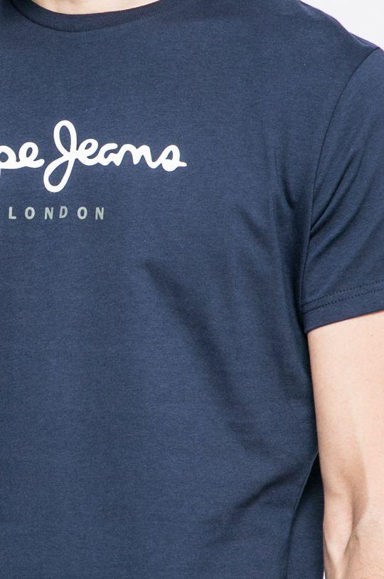 námořnická modř Pepe Jeans - Tričko Eggo