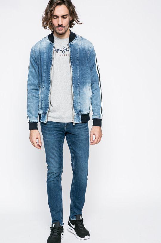 Pepe Jeans - Pánske tričko Eggo sivá