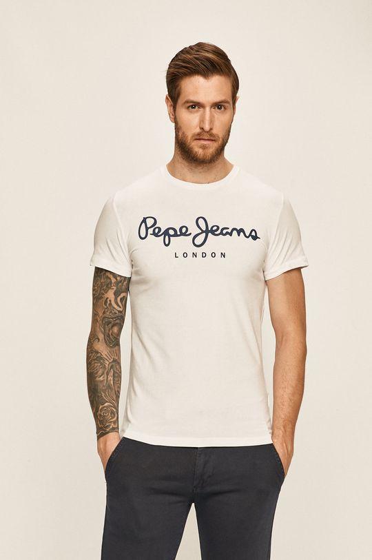 biały Pepe Jeans - T-shirt