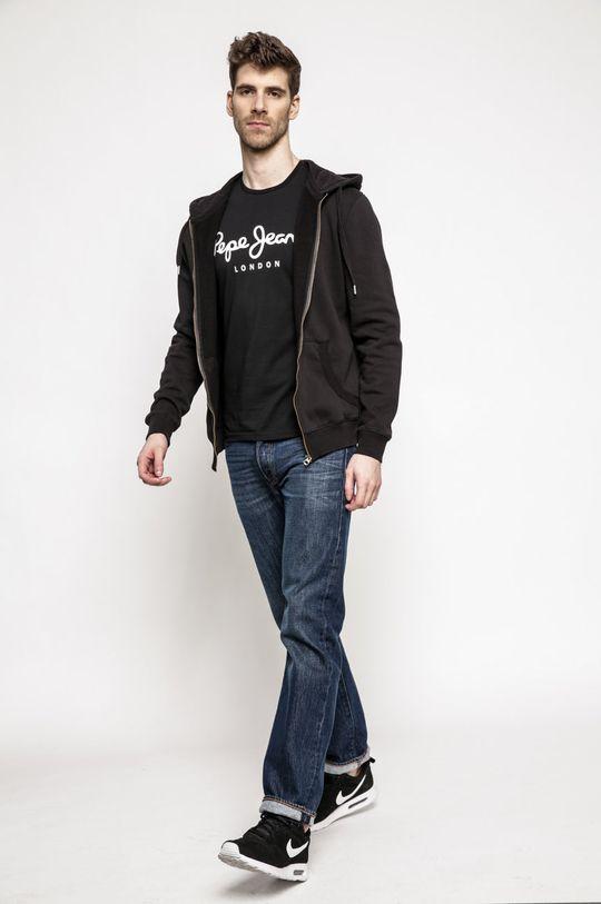 Pepe Jeans - Pánske tričko čierna
