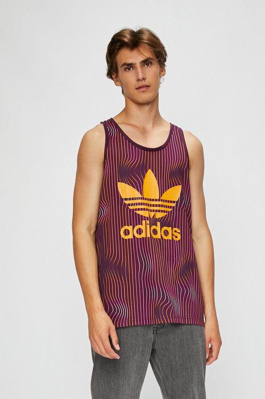 виолетов adidas Originals - Тениска Чоловічий
