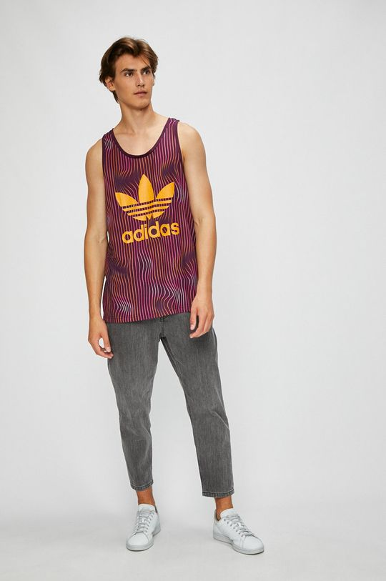adidas Originals - Тениска виолетов