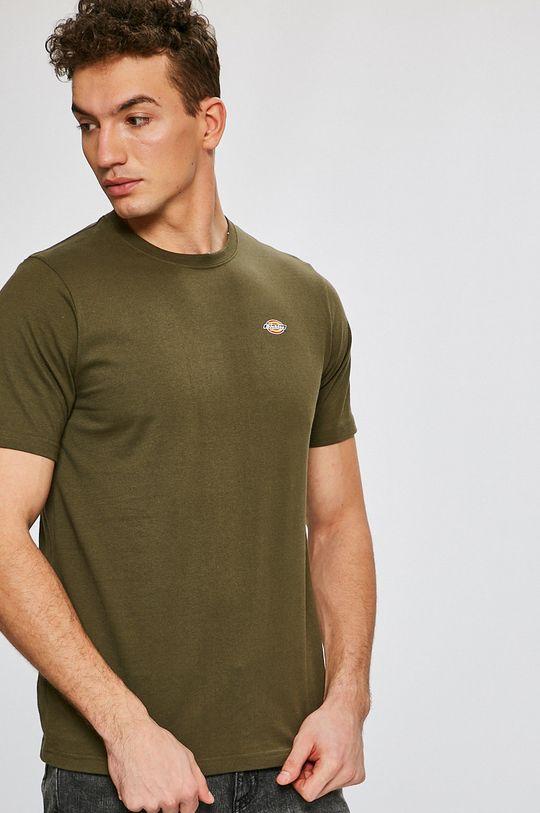 zelená Dickies - Pánske tričko Pánsky