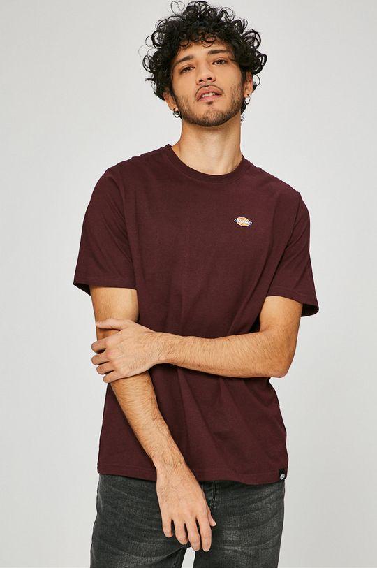 kasztanowy Dickies - T-shirt Męski