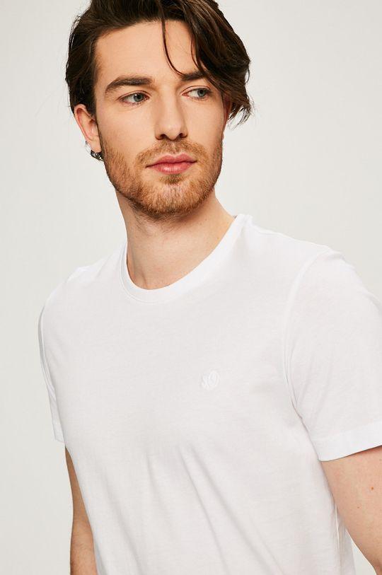 biela s. Oliver - Pánske tričko (2-pak)