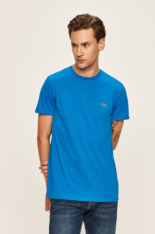albastru Lacoste - Tricou De bărbați