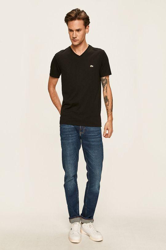 Lacoste - T-shirt czarny