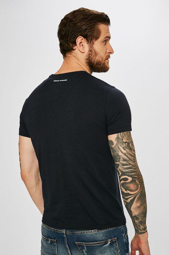 Armani Exchange - T-shirt 100 % Bawełna, Materiał zasadniczy: 100 % Bawełna,
