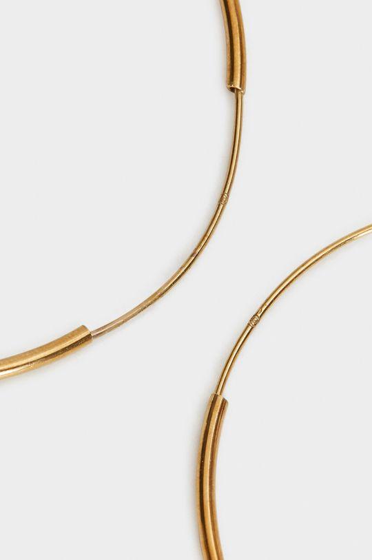 Parfois - Náušnice  100% Stříbro pozlacené 24k zlatem