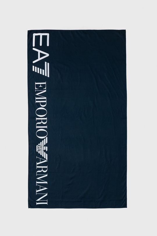 granatowy EA7 Emporio Armani - Ręcznik Damski
