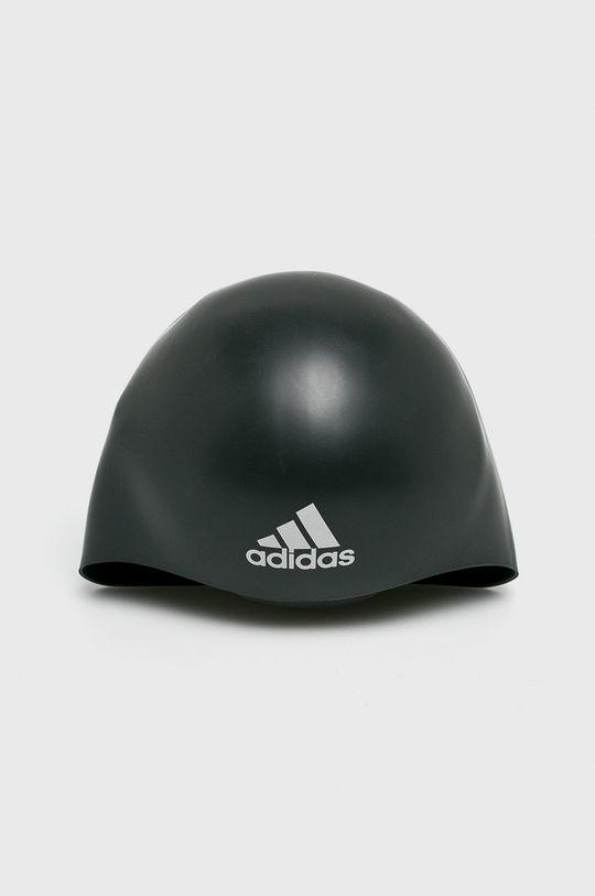 čierna adidas Performance - Plavecká čiapka Pánsky