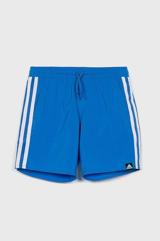 modrá adidas Performance - Detské plavky 128-176 cm Chlapčenský