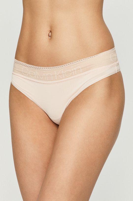 pasztell rózsaszín Calvin Klein Underwear - Brazil bugyi Női