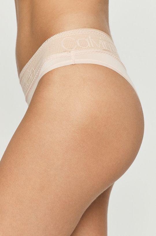 Calvin Klein Underwear - Brazil bugyi pasztell rózsaszín