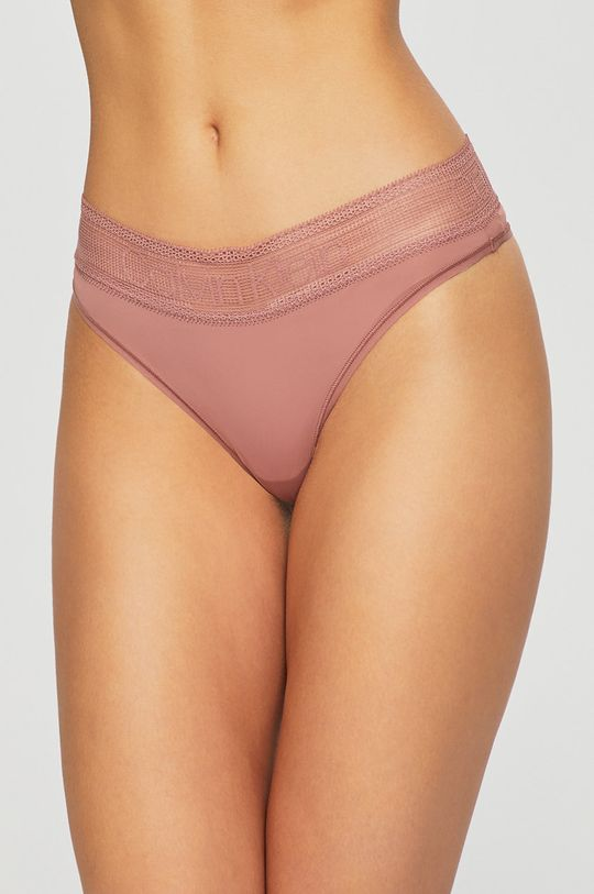 starorůžová Calvin Klein Underwear - kalhotky brazilky Dámský