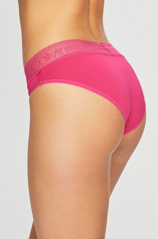 Calvin Klein Underwear - Kalhotky ostrá růžová