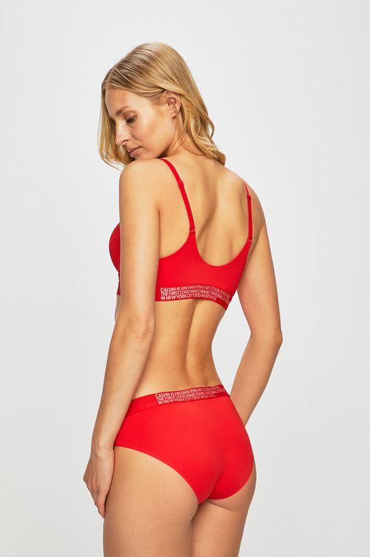 Calvin Klein Underwear - Podprsenka červená