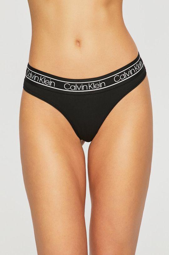 černá Calvin Klein Underwear - tanga Dámský