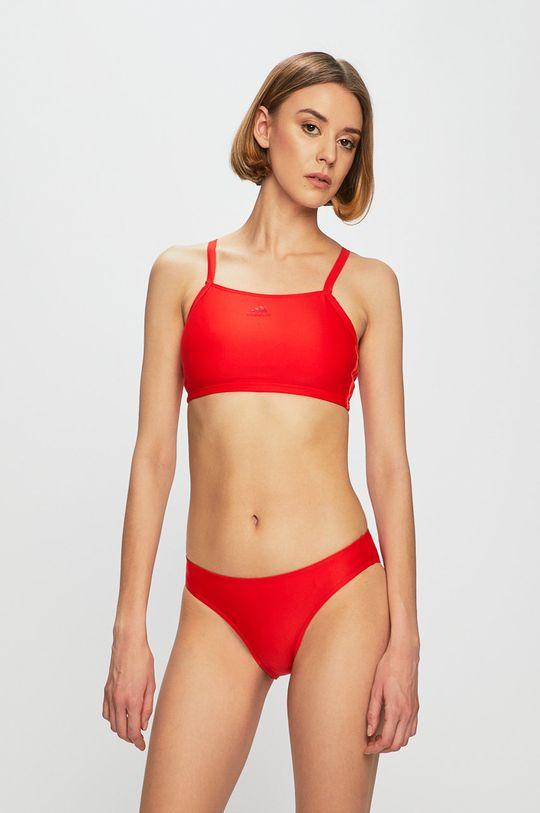 červená adidas Performance - Plavky Dámský