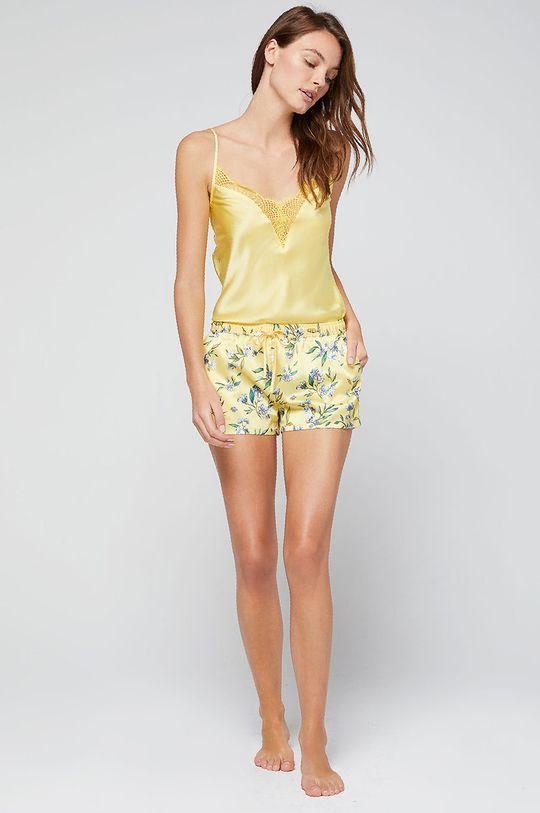 sárga Etam - Rövid pizsama Clem Női