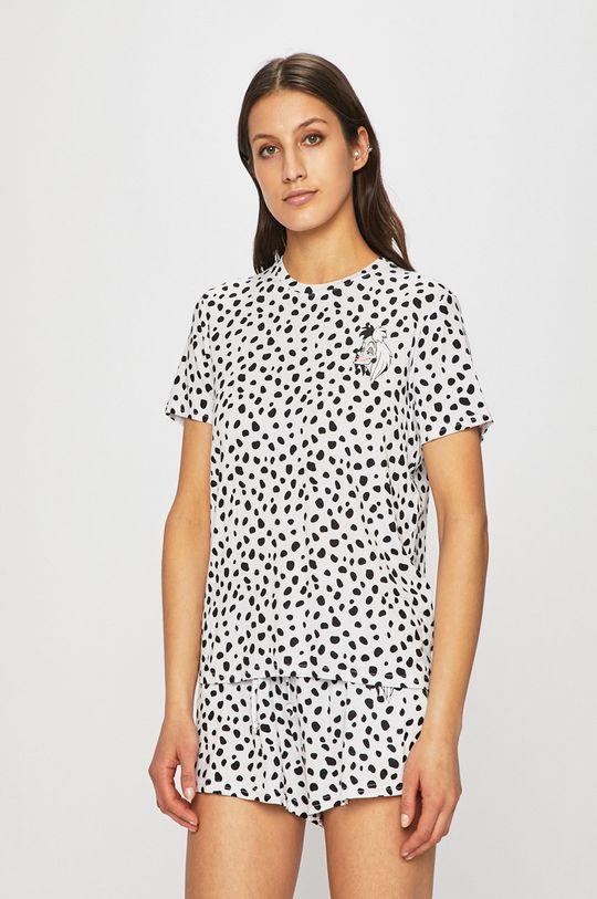 Undiz - Rövid pizsama Cruelaiz fehér