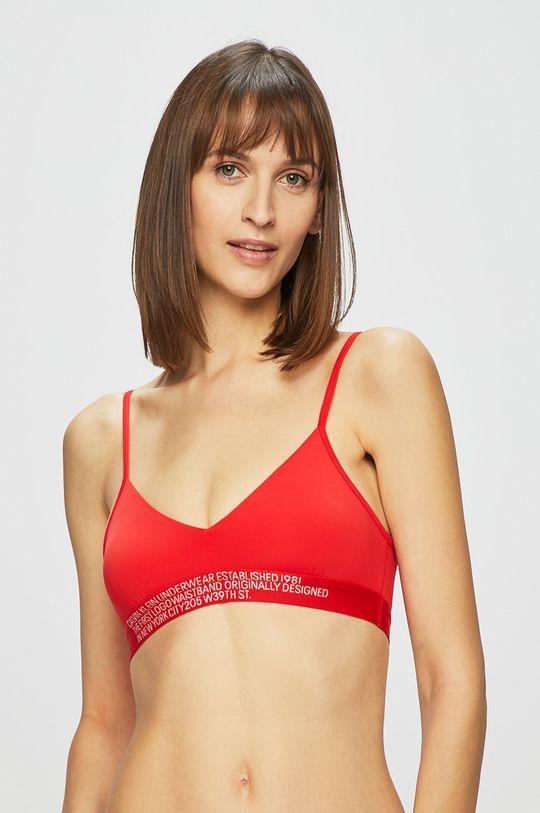 Calvin Klein Underwear - Plavková podprsenka červená