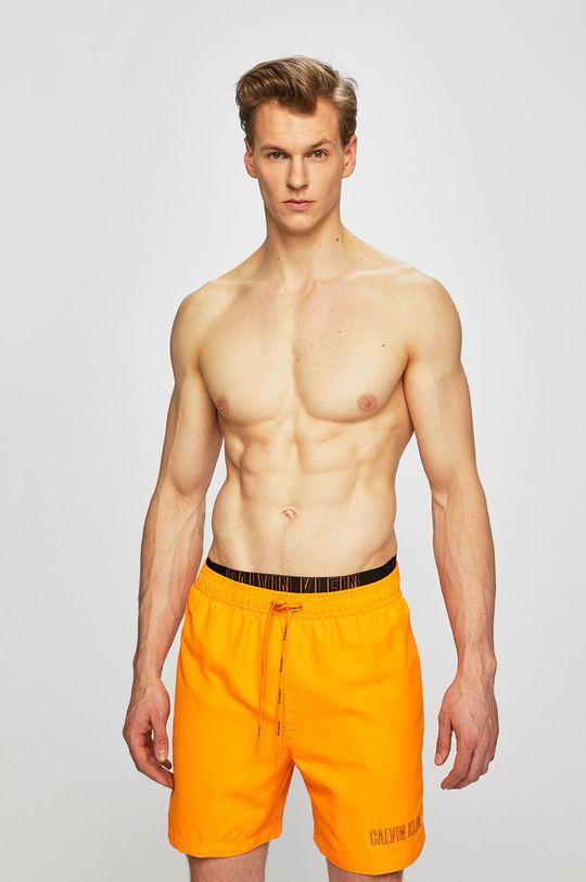 Calvin Klein Jeans - Plavky oranžová