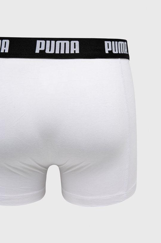 biały Puma - Bokserki (2-Pack)