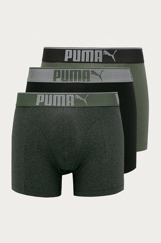 verde murdar Puma - Boxeri (3-pack) De bărbați