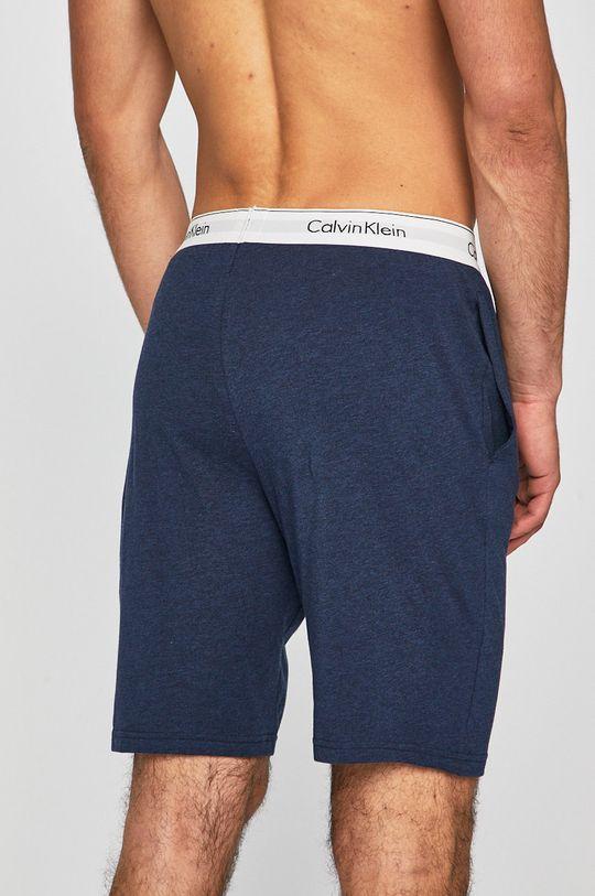 Calvin Klein Underwear - Pyžamové šortky námořnická modř