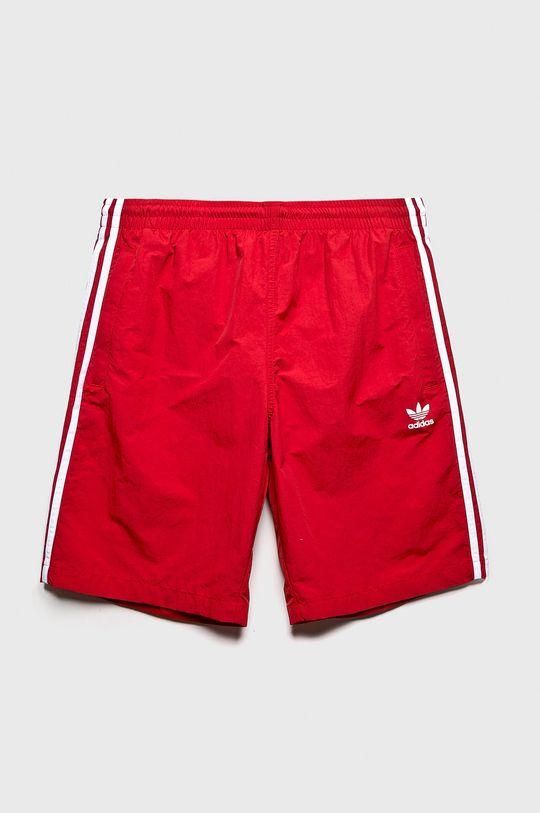 červená adidas Originals - Plavky Pánsky