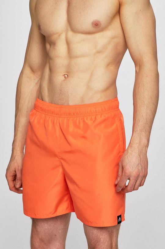 oranžová adidas Performance - Plavky Pánský