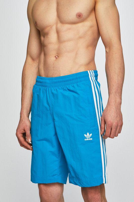 modrá adidas Originals - Plavky Pánsky
