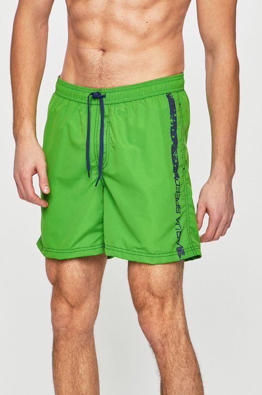 verde Aqua Speed - Costum de baie De bărbați